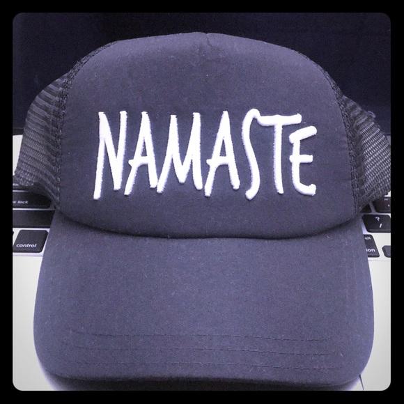 065c681c Apana Accessories | Namaste Yoga Mesh Cap | Poshmark